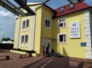 Wejście do Villa Bella Casa